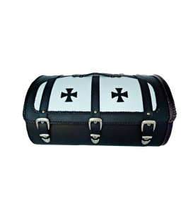 Leather Rear Trunk BT-028 Maltese Cross