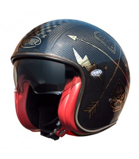 Casco Premier Vintage Carbon NX Gold Chromed