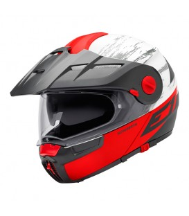 Schuberth E1 Crossfire Rojo Mate