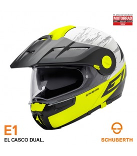 Schuberth E1 Crossfire Amarillo Mate