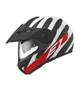Schuberth E1 Hunter Rojo Mate