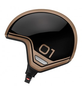 Casco Jet Schuberth O1 Era Bronze