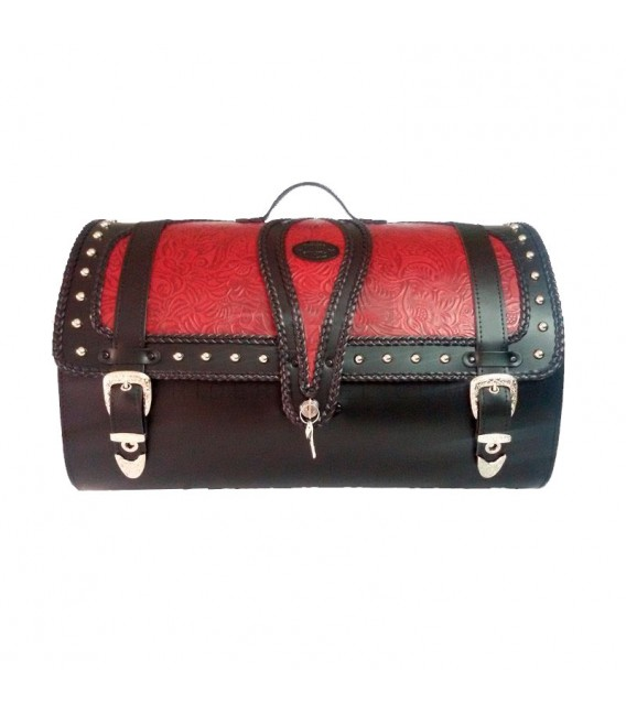 Rear Trunk BT-028 Embossed Leather