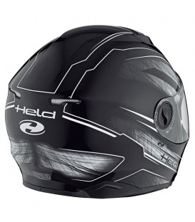 Casco Integral Held Katana Negro Blanco