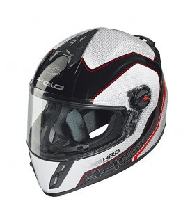 Full-face Helmet Held Scard White Diseng