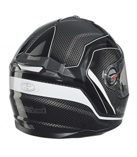 Casco Integral Held Scard Negro Rojo