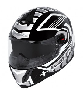 Casco Integral niño/a Held Scard Negro Blanco