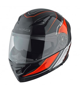 Flip-up Helmet Held Travel Champ II Black Red
