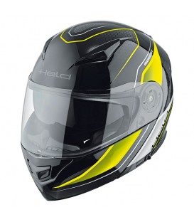 Flip-up Helmet Held Travel Champ II Black Fluor