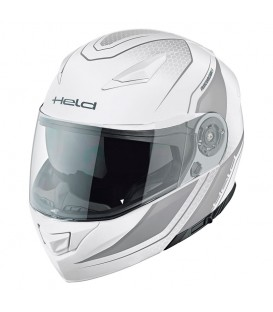 Casco modular Held Travel Champ II Blanco Gris
