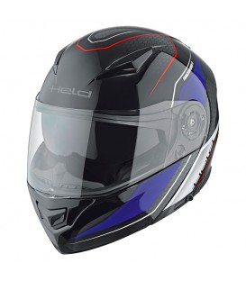 Flip-up Helmet Held Travel Champ II Black Blue