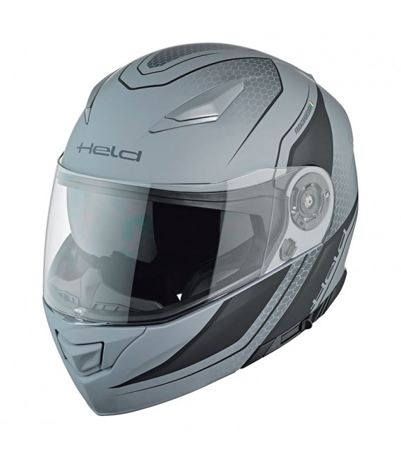 Casco modular Held Travel Champ II Negro Gris
