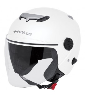 Jet Helmet Held Top Spot White