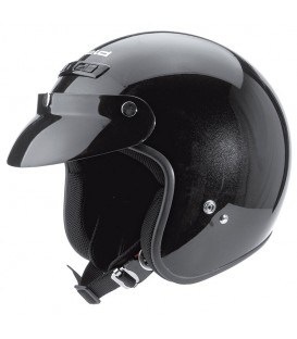 Casco Jet Held Rune Negro