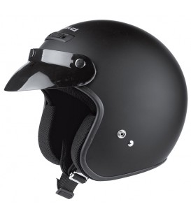Casco Jet Held Rune Negro Mate