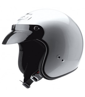 Casco Jet Held Rune Plata