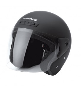 Jet Helmet Held Heros Matt Black