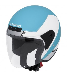 Jet Helmet Held Heros White Blue