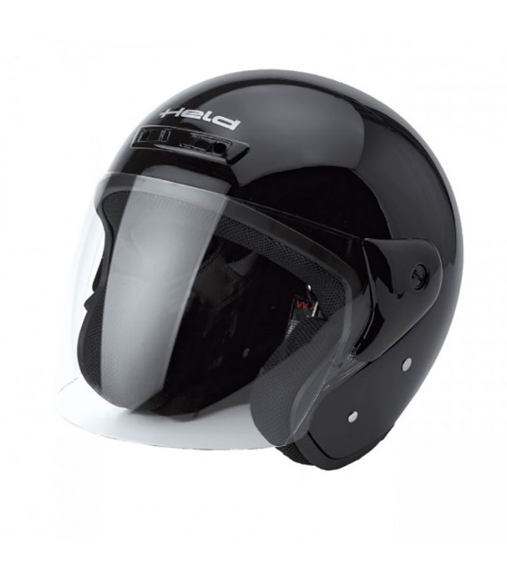 Casco Jet Held Heros Negro