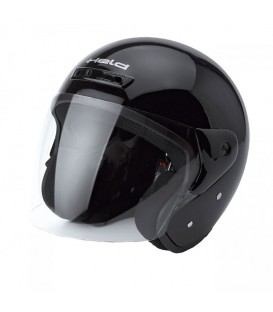 Jet Helmet Held Heros Black