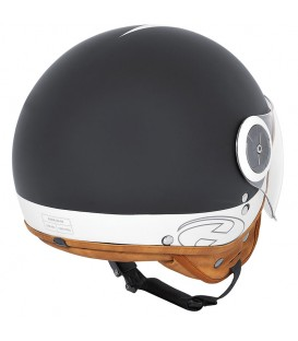 Casco Jet Held Mc Corry Negro