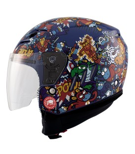 Casco Jet Shiro SH-20 Supersheet Mix