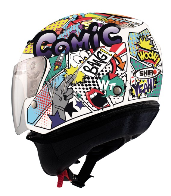 Casco Jet Shiro SH-20 Comic