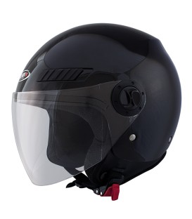 Casco Jet Shiro SH-62 GS Negro