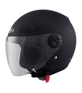 Shiro SH-62 GS Matt Black Jet Helmet