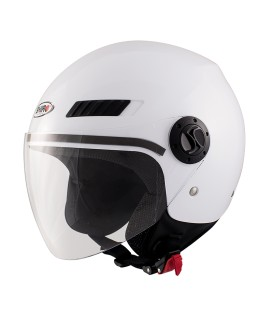 Shiro SH-62 GS White Jet Helmet