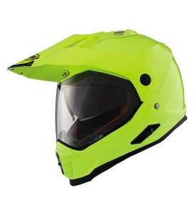 Shiro MX-313 Fiber Yellow Flour Off Road Helmet