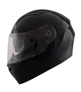 Shiro SH-600 Black Full face Helmet