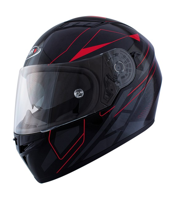 Shiro SH-600 Matt Red Full face Helmet