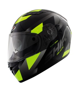 Casco Integral Shiro SH-600 Brno Amarillo Fluor