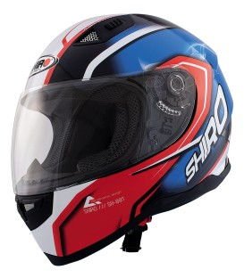 Shiro SH-881 Motegi Red Blue