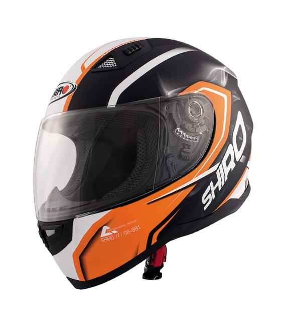 Shiro SH-881 Motegi Matt Orange
