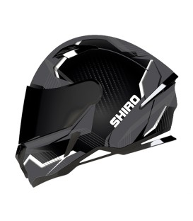 Shiro SH-890 Losail Matt Black Grey