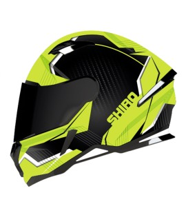 Shiro SH-890 Losail Matt Black Fluor Yellow