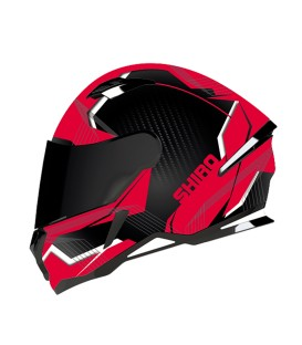 Shiro SH-890 Losail Matt Black Red
