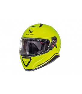 MT Helmets Thunder 3 SV Solid Gloss Hi-Viz Yellow
