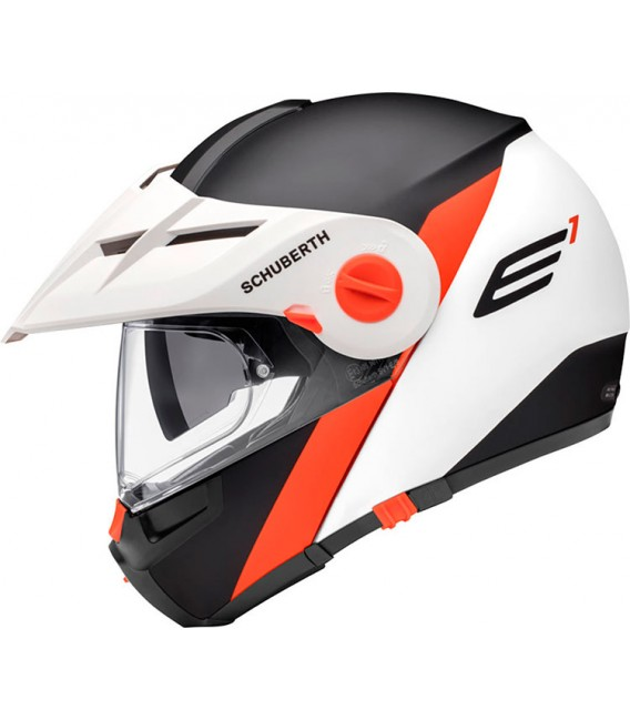 Schuberth E1 Gravity Naranja Mate