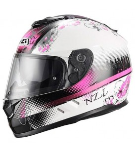 NZI Symbio Duo Graphics Sundance White Pink