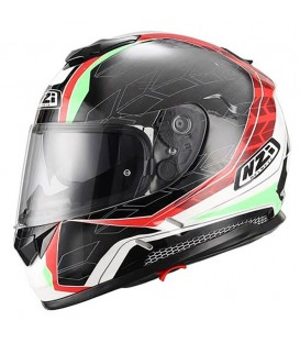 NZI Symbio Duo Graphics Dart Red Green