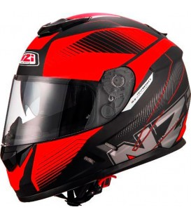 NZI Symbio 2 Duo Graphics Indy Black Red