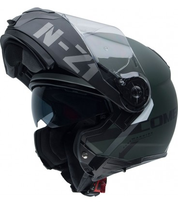 Casco abatible Nzi Combi 2 duo Antracite bluetooth