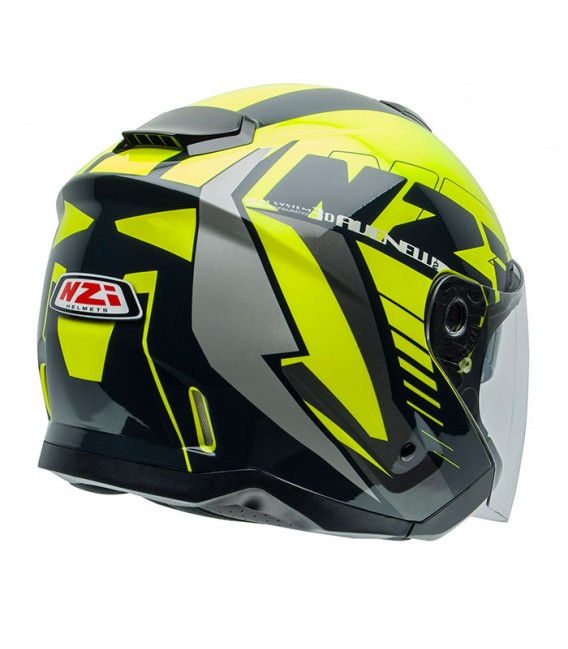 NZI Avenew 2 Duo Graphics Prova Yellow Black