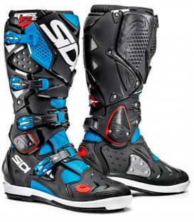 Motocross Boots Sidi Crossfire 2 Blue Black