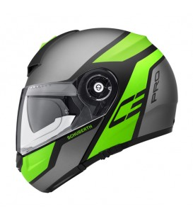 Casco Modular Schuberth C3 Pro Echo Green
