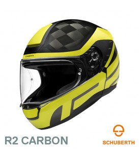 Casco Schuberth R2 Carbon Cobature Amarillo
