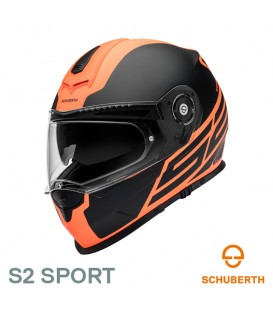 Schuberth S2 Traction Matt Orange